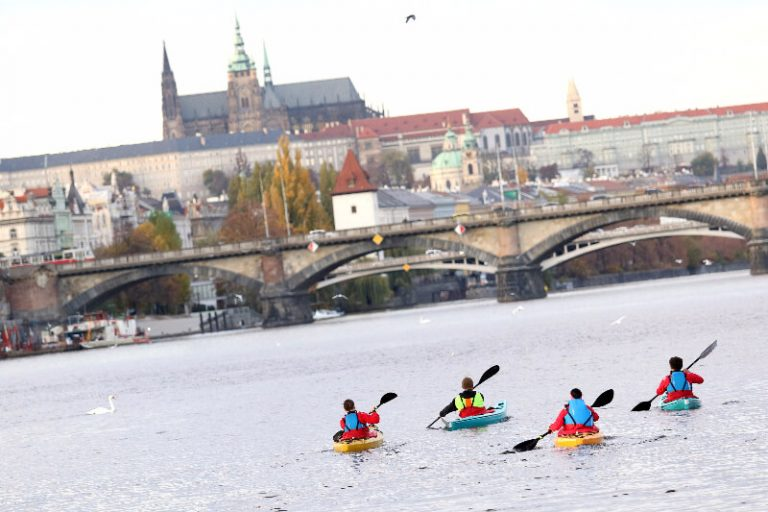 Sports activities for visitors in Prague